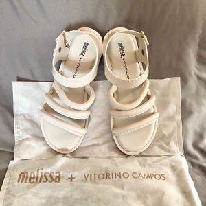 Melissa Sandals NWBag
